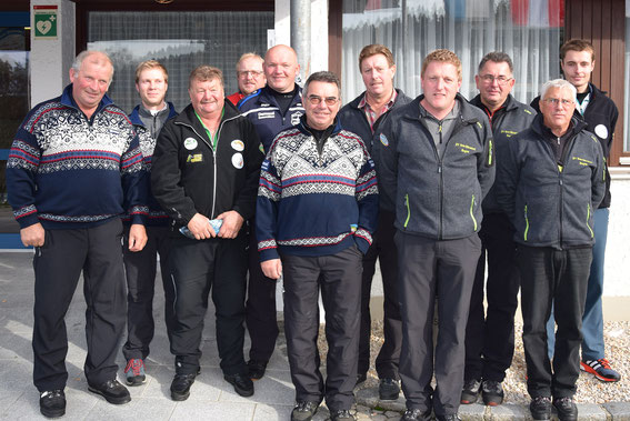 Siegerfoto Herrengruppe I