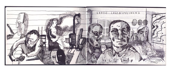 Niels-Schröder präsentiert hier einige Seiten aus seinen Skizzenbüchern, welche über die letzten Jahre entstanden sind.