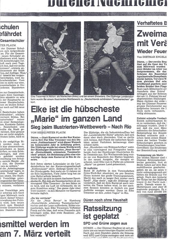 Dürener Nachrichten März 1987