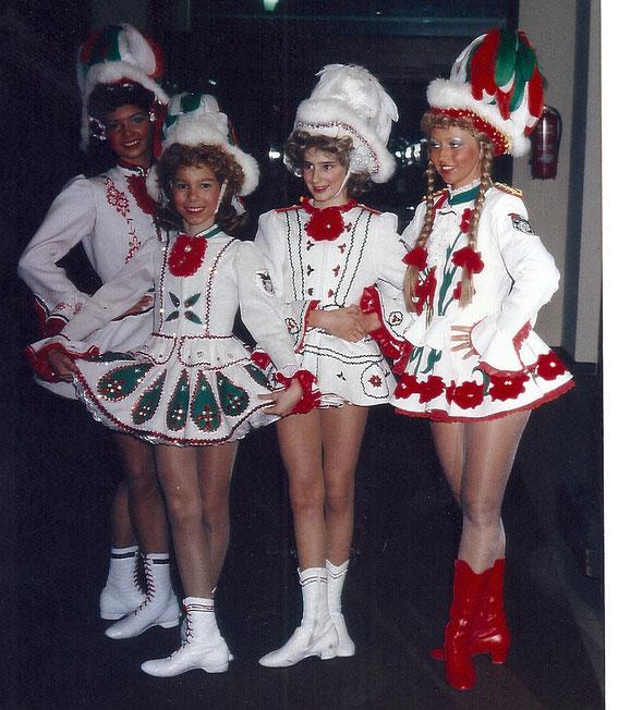 Mariechen 1995 Britta Vaßen, Sonja Wirtz, Melanie Christ  und  Elke Tresemer