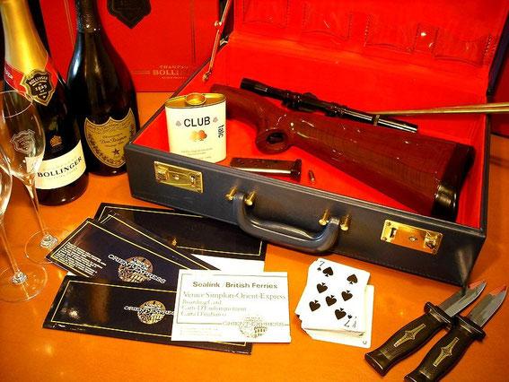 007ジェームズ・ボンド JAMES BOND, アタッシュケース,briefcase