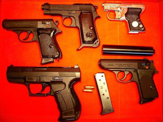 007ジェームズ・ボンド JAMES BOND, アタッシュケース,briefcase,gun,ppk,beretta M1919