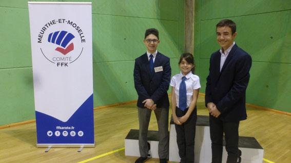 Les 3 jeunes juges présents à Mont-Saint-Martin