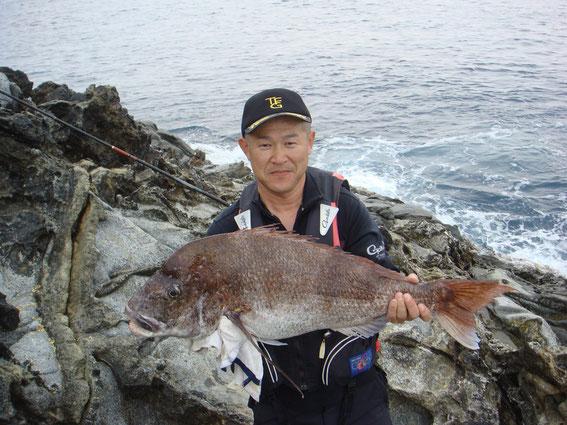 真鯛85cm 7,8kg
