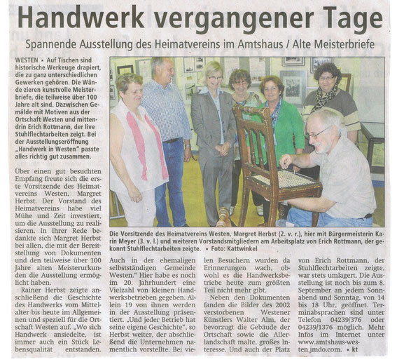 Verdener Aller-Zeitung 21.08.2013
