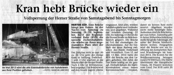 27.9.2013 Hertener Allgemeine