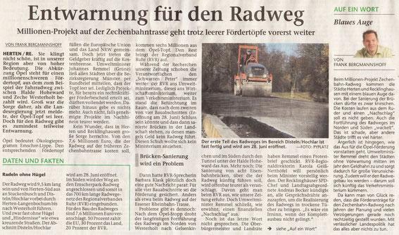 Hertener Allgemeine 13.6.2013