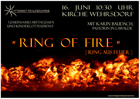 Plakat Ring of Fire