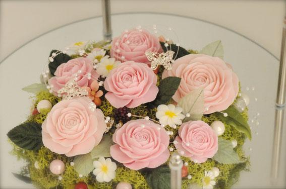 カービング 薔薇 バラ ソープ