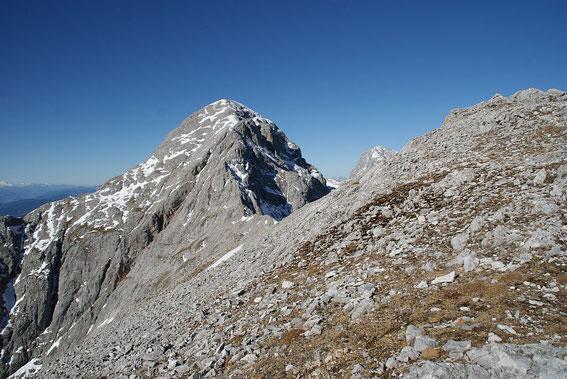 Der herrliche Grat von der Hohen Rams zur Scheichenspitze