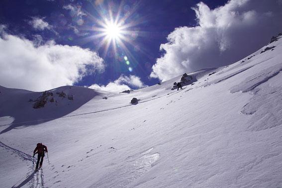 Der Ausstieg des Kars ist gleich erreicht