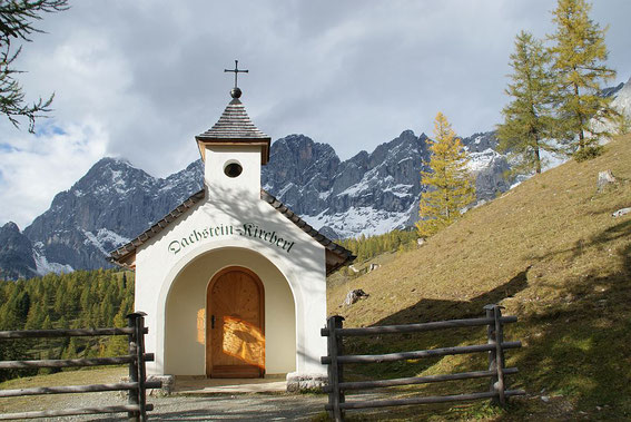 Dachstein Kircherl bei der Brandalm
