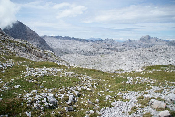 Die nächste Steinwüste, Blick von der Hochbrunnsulzen nach Westen