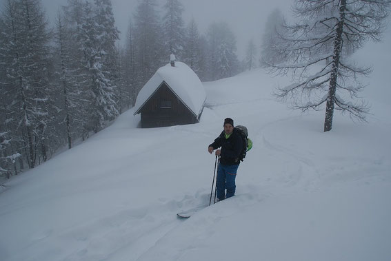 Die Mitzl-Moitzl-Hütte