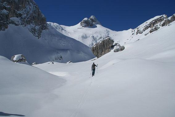 Der Karboden mit dem Begunjski vrh