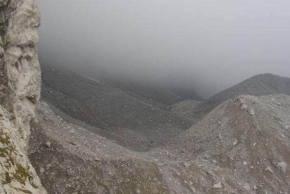 Blick von Osten ins graue Eiskar