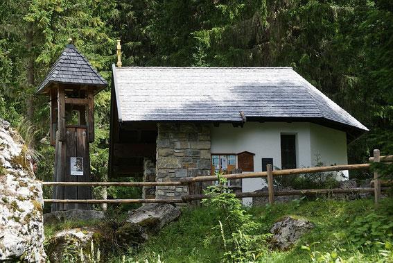 Die Kapelle bei der Innsteinhütte