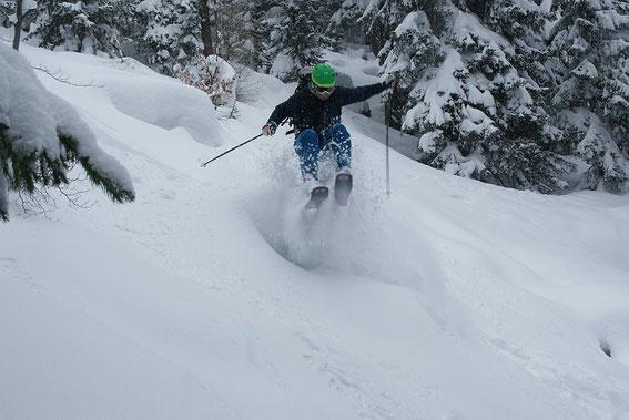 Die Schneemassen lassen das Abfahrtsherz der jungen Wilden höher schlagen