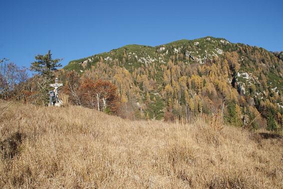 Am Kleinen Monte Re mit Blick Richtung Gipfel
