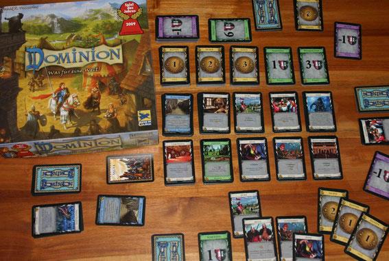 Dominion von Hans im Glück bzw. Ass für 2-4 Spieler; Autor: Donald X. Vaccarino