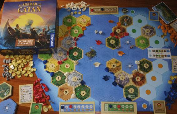 Siedler von Catan - Entdecker & Piraten von Kosmos