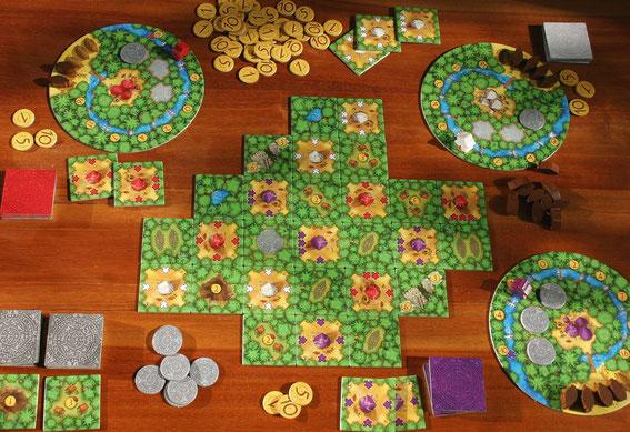 Cacao von Abacus-Spiele für 2-4 Spieler ab 8 Jahren; Autor: Phil Walker-Harding