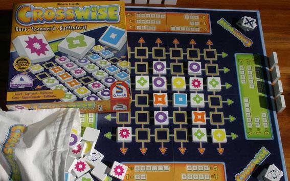 Crosswise von Schmidt für 2-4 Spieler