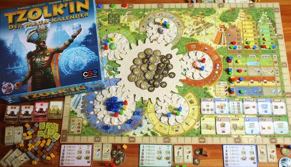 Tzolk'in vom Heidelberger Spieleverlag (CGE) für 2-4 Spieler