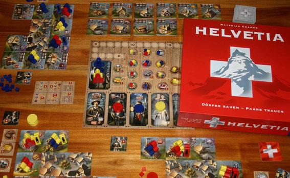 Helvetia von Kosmos für 2-4 Spieler
