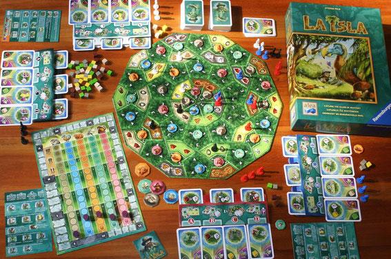 La Isla von Ravensburger/Alea für 2-4 Spieler, Autor: Stefan Feld