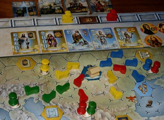 Pantheon von Hans im Glück für 2-4 Spieler