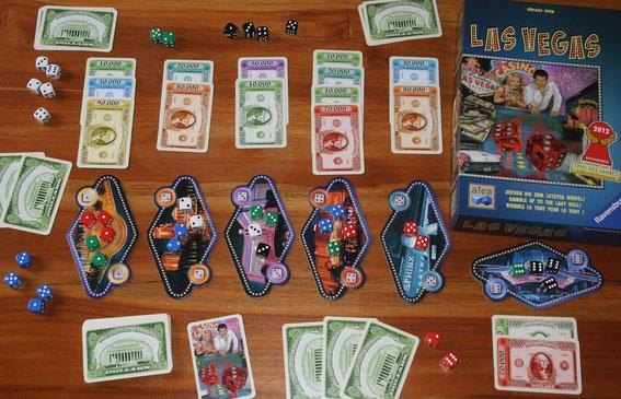 Las Vegas von Ravensburger/alea für 2-5 Spieler ab 8 Jahren; Autor: Rüdiger Dorn