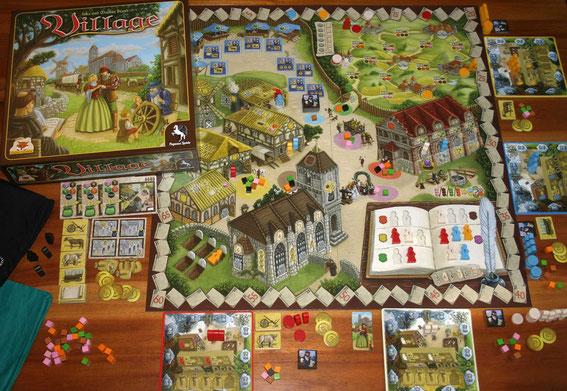 Village von Pegasus/Eggert für 2-4 Spieler; Autoren: Inka & Markus Brand
