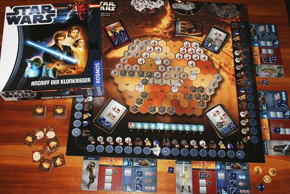 Star Wars Angriff der Klonkrieger von Kosmos; Autor: Markus Brand
