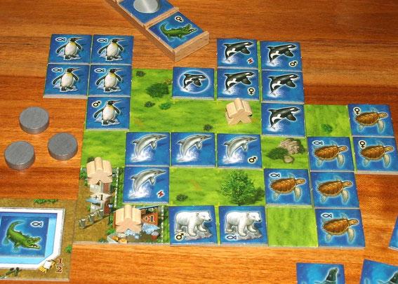 Aquaretto von Abacus für 2-5 Spieler ab 10 Jahren