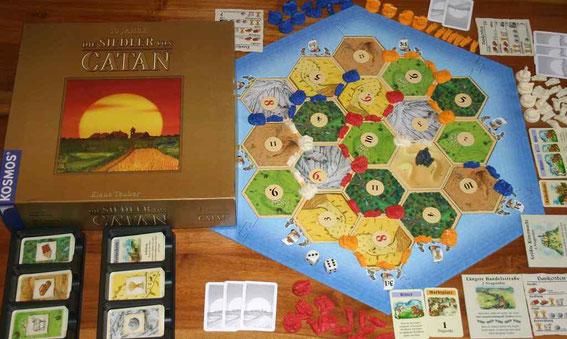 Die Siedler von Catan von Kosmos für 3-4 (6) Spieler; Autor: Klaus Teuber