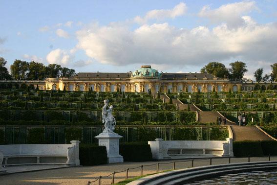 Schloss & Park Sanssouci in Potsdam