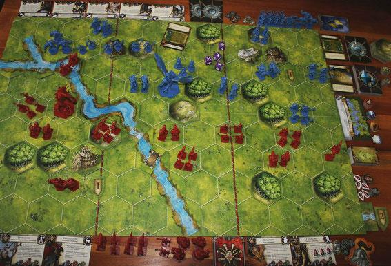 Battlelore von Heidelberger/Fantasy Flight für 2 Spieler ab 14 Jahren; Autor: Richard Borg