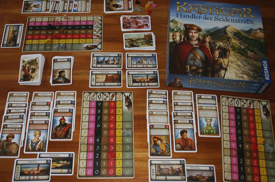 Kashgar von Kosmos für 2-4 Spieler