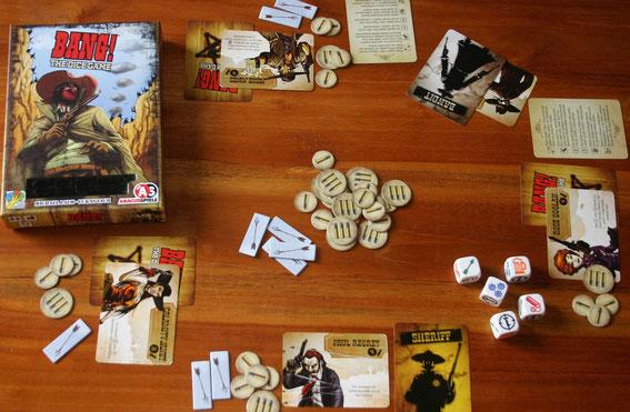 Bang! The Dice Game von Abacus für 3-8 Spieler