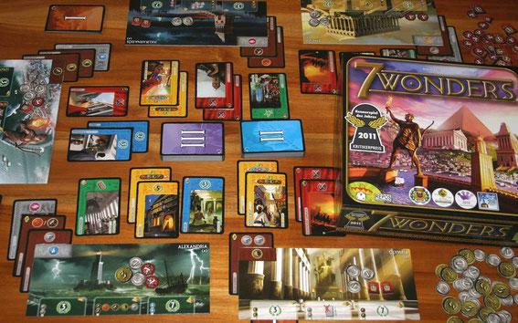 7 Wonders von Repos Production für 2-7 Spieler