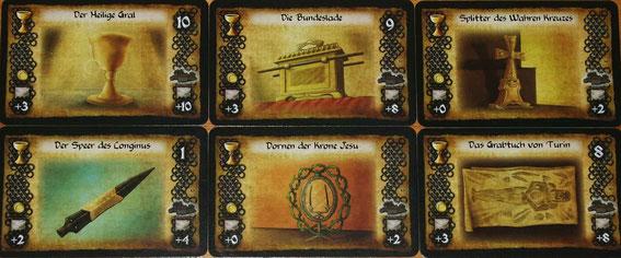 Reliquienkarten
