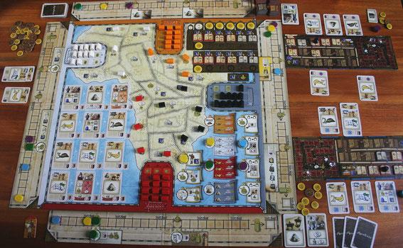 Mombasa von eggert-Spiele für 2-4 Spieler ab 12 Jahren; Autor: Alexander Pfister