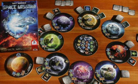 Space Mission von Schmidt für 2-5 Spieler