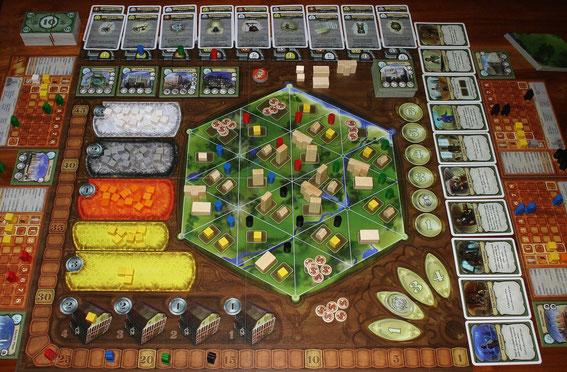 Urbanization von Queen Games für 2-4 Spieler