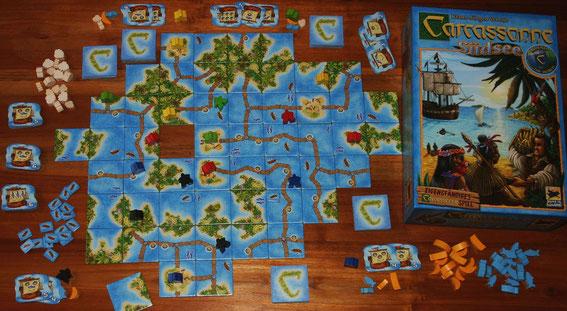 Carcassonne Südsee für 2-5 Spieler