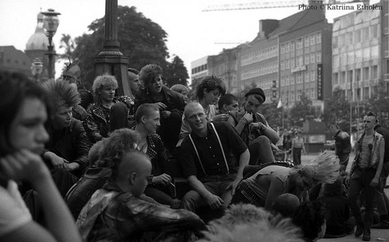 Fotocredit by Katriina Etholén; 3.8.1984