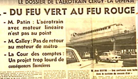 Feu rouge pour la liaison Cergy-Pontoise