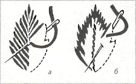 вышивка на трикотаже