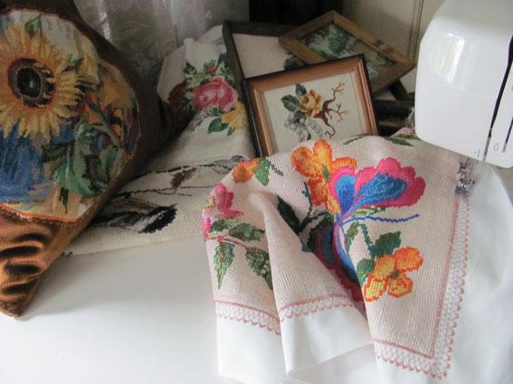 использование вышивки в изделиях вышивка крестом вышивка лентами вышитые вещи
